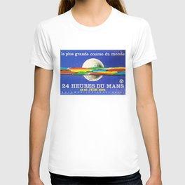 24hs Le Mans, 1974, original vintage poster T-shirt