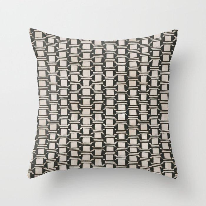 Karten Vase Throw Pillow
