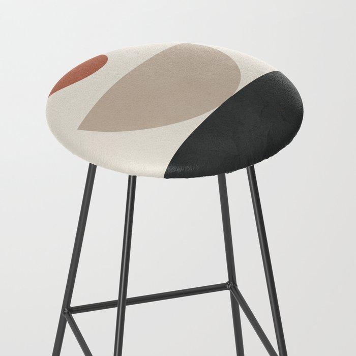 Geometric Modern Art 30 Bar Stool