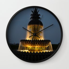fountain lights Wall Clock