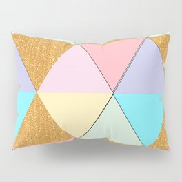 Golden Beauty  Pillow Sham