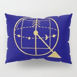 Sacred Geometry Letter Q Pillow Sham