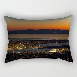 Vancouver at Sunset Rectangular Pillow