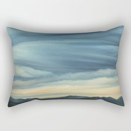 View from Hamburg Mountain Rectangular Pillow