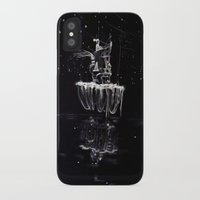 castle in the sky iPhone & iPod Cases featuring Sky Castle by Phoebe Mehit