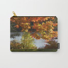 Fall Lake View, Wellesley College Carry-All Pouch