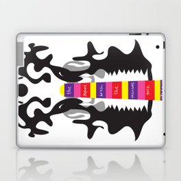 The elephant with the inscissors tusk.  Laptop & iPad Skin