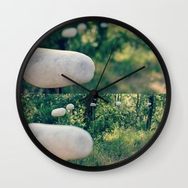 Not-Rolling Stone Wall Clock
