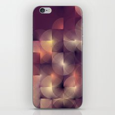 Chameleonic Written Circles - Colours from Abstract VIII by Sabine Doberer iPhone & iPod Skin