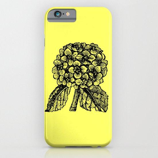 Yellow Hydrangea iPhone & iPod Case