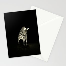 Christmas At The Living Desert Zoo - Zebra Stationery Cards