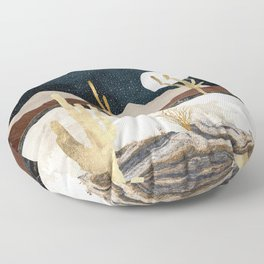 Desert View Floor Pillow