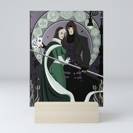 Rogue Remy Art Nouveau Mini Art Print