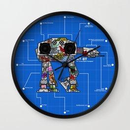 AT-BT: All Terrain Beats Transport Wall Clock