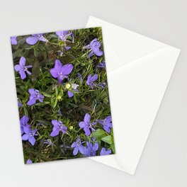Purpley Poster Stationery Cards
