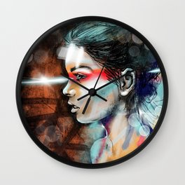 Nova Spike Wall Clock