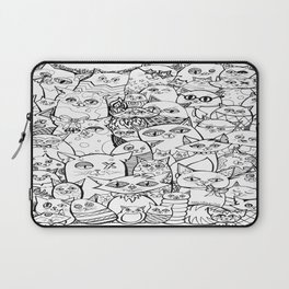 Crazy Cats Laptop Sleeve