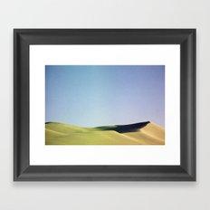grain loss Framed Art Print