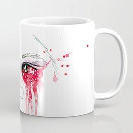 blood red eyes Coffee Mug
