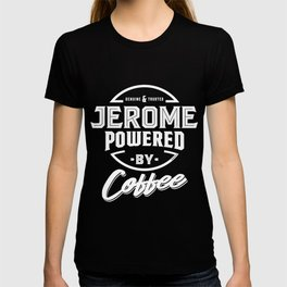 Jerome Powered by Coffee T-shirt