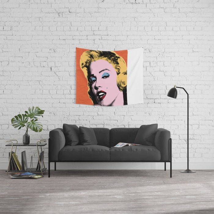 my night with Marilyn Wall Tapestry