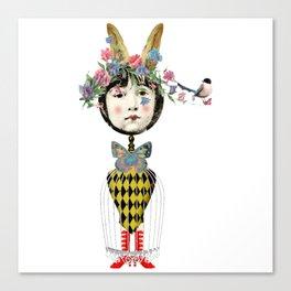 Saucy Nancy Canvas Print