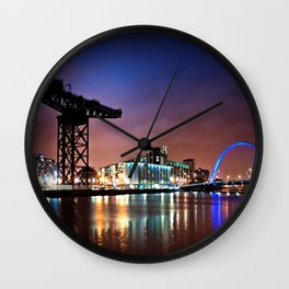 The Clyde Arc Wall Clock