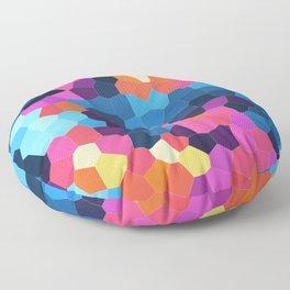 Geometric Brights Floor Pillow