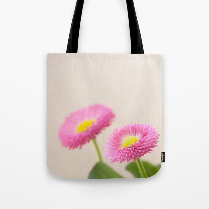 Pink Daisies in the Spring #1 #decor #art #society6 Tote Bag