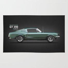 The Bullitt Mustang GT 390 Rug