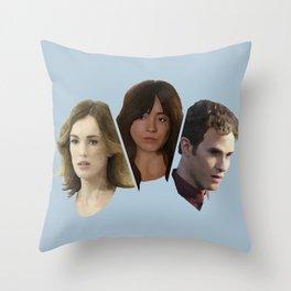FitzSkimmons Throw Pillow