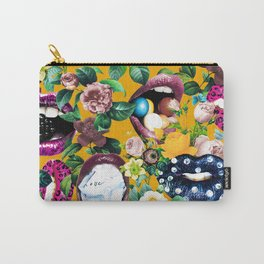 Sexy Floral Garden Carry-All Pouch