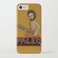 crossfit iPhone & iPod Cases featuring Paleo Before It Was Cool Crossfit Design by RonkyTonk by RonkyTonk