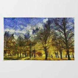 Greenwich Park London Van Gogh Rug