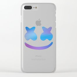 color full mellow Clear iPhone Case