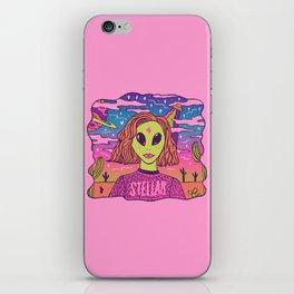 Stellar Girl iPhone Skin