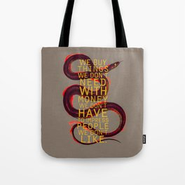 false behavior (variant 4) Tote Bag