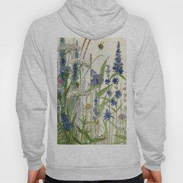 Wildflowers 2 watercolor Hoody