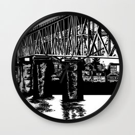 Manette Bridge Wall Clock