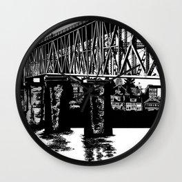Manette Bridge Wall Clock