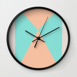 Mid Century Modern 4 Wall Clock