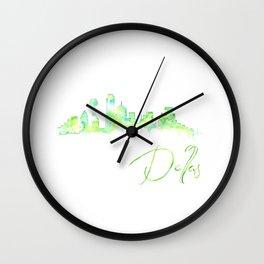 Dallas Wall Clock