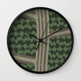 BACKROADS Wall Clock