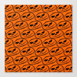 Skull halloween Canvas Print