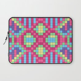 Checkerboard Squares Abstract Laptop Sleeve