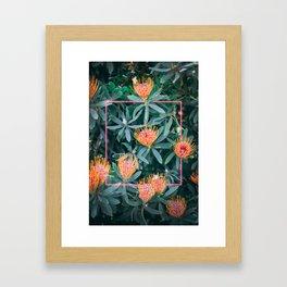 Neon Botanical IX Framed Art Print