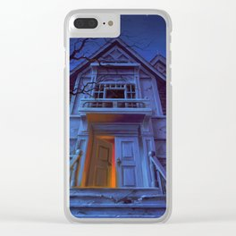 Welcome to Dead House Clear iPhone Case