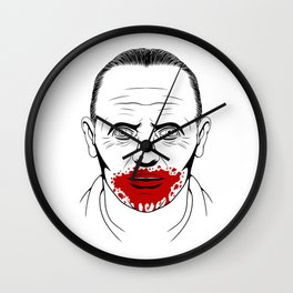 Hannibal Lecter Wall Clock