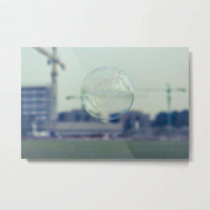 city bubble Metal Print