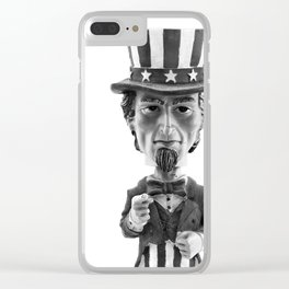 I Want You Clear iPhone Case
